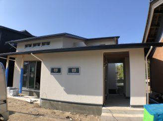 R様邸 新築 外壁工事